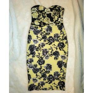 ASOS Yellow Wiggle Dress